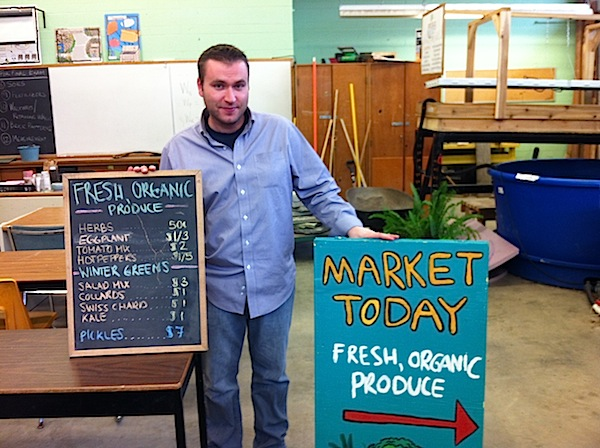 Leif Loponen teaches Green Industry at Bendale