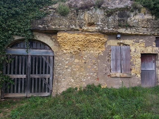 Outside the Huet Cellars