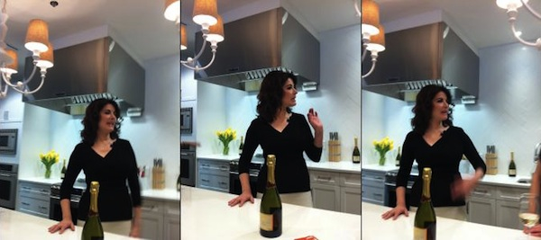 Nigella Lawson at the Chatelaine Kitchen