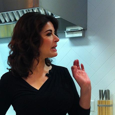 Nigella Lawson at the Chatelaine Kitchen