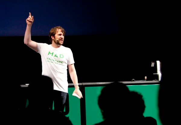 Redzepi at Mad Food 2011