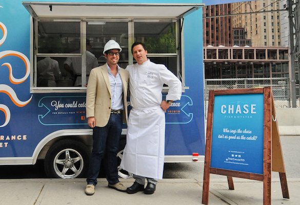 Steven Salm and Michael Steh at The Chase