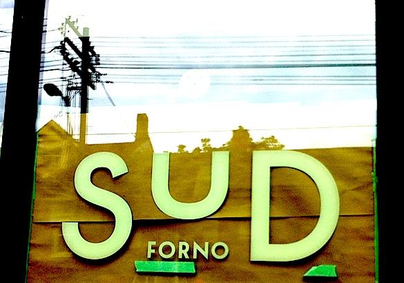 Window of Terroni's Sud Forno on June 11, 2013.