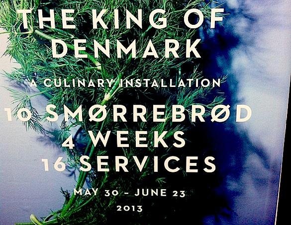 The King of Denmark banner