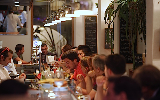 Interior of Bar Canete in Barcelona