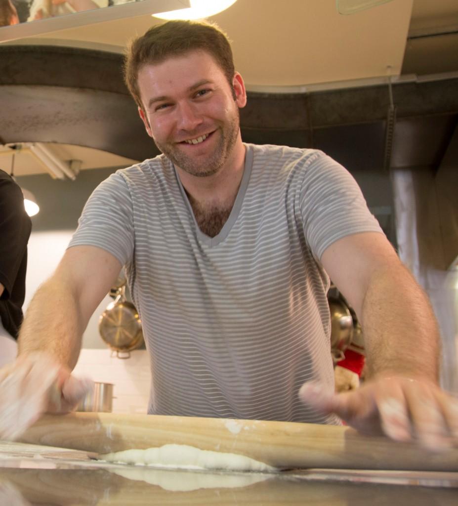 Stratford Chef Jordan Lassaline knows his way around a rolling pin.