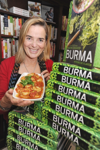 Author Naomi Duguid will be treating the crowd to the secrets of Burmese cuisine at this year's Savour Stratford on Saturday the 21st of September Saturday 12:30pm on the Toronto Star Culinary Stage