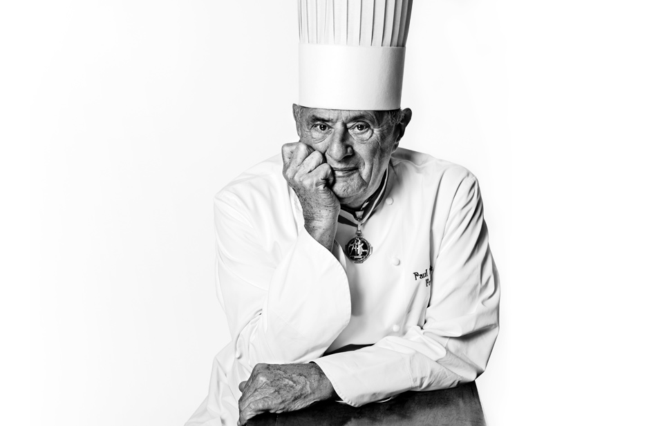 Forever at the epicentre of the movement, Chef Paul Bocuse.