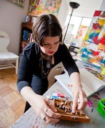 Lorette C Luzajic at work