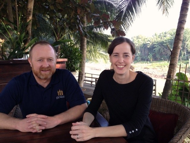 Chef Luke Clarke & Catherine Irving The Apsara Luang Prabang