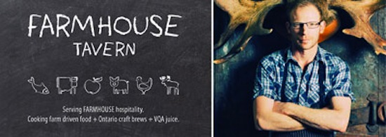 The Farmhouse Tavern's Chef Alex Moliz presents a multi-course seasonal menu at The Chefs' House on Wednesday March 5th.