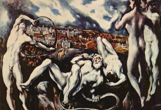 Laocoon by El Greco 1610