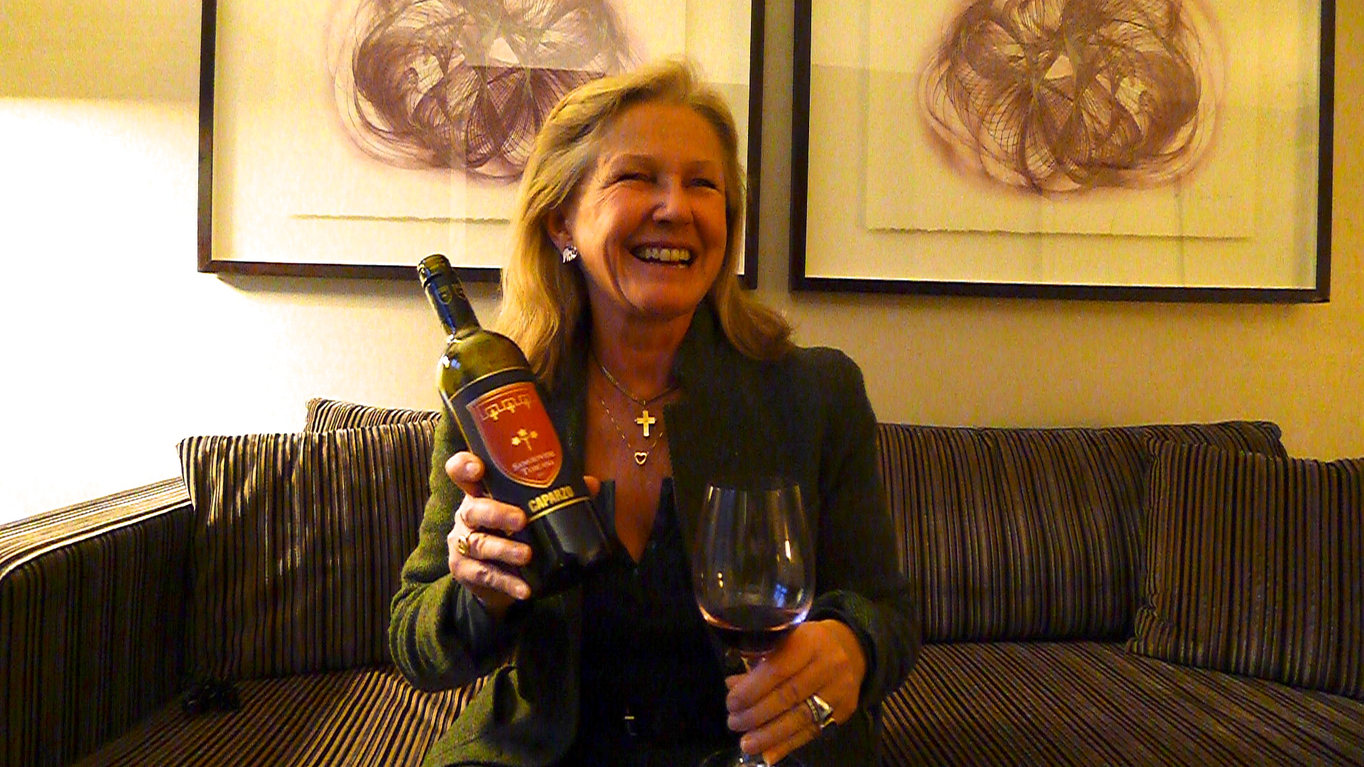 In Toronto this week for the launch of her new wine, Elisabetta Gnudi Angelini certainly loves what she does.