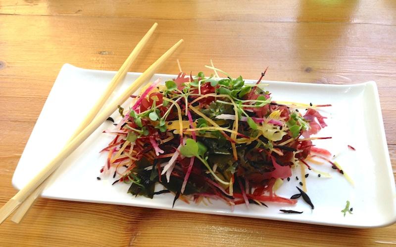 Seaweed Salad at Just Sushi