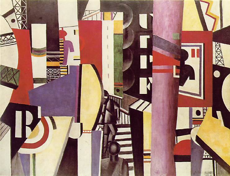 The City by Fernand Leger 1919