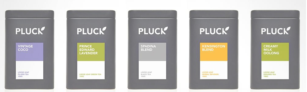 Pluck Tea selections