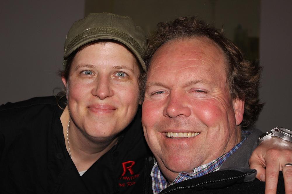 Lora Kirk and Norm Hardie at Ruby Watchco