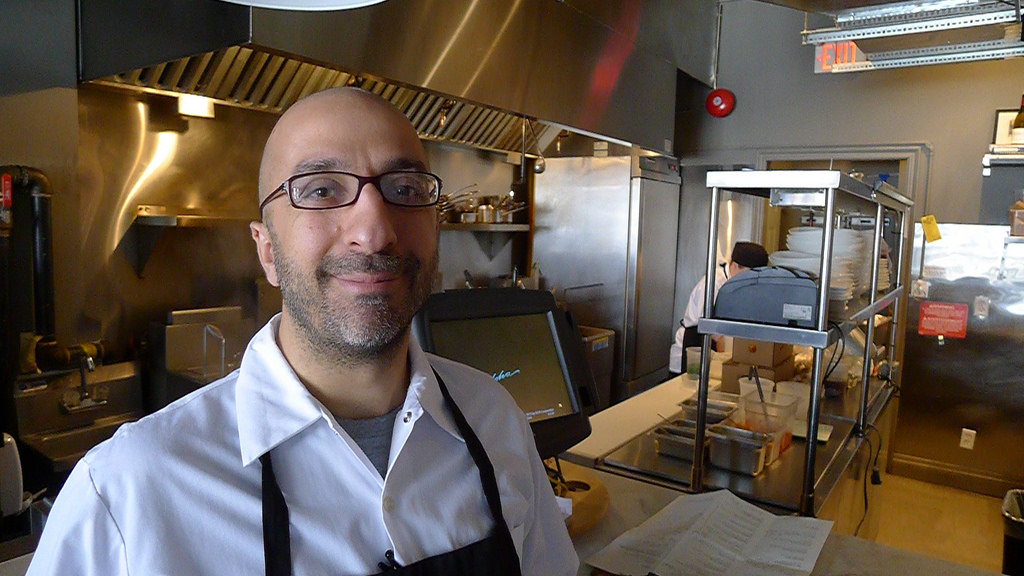 Chef John Sinopoli loves to spend time at the stoves of Enoteca Ascari.