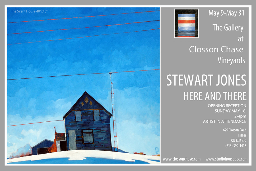 Stewart Jones Opening Reception at Closson Chase Vineyards