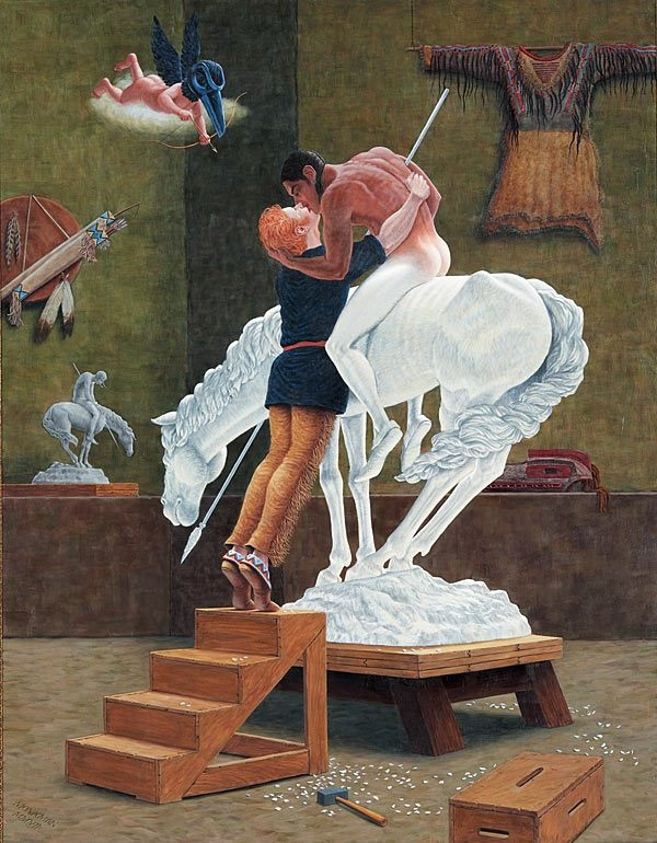 Icon for a New Empire by Kent Monkman