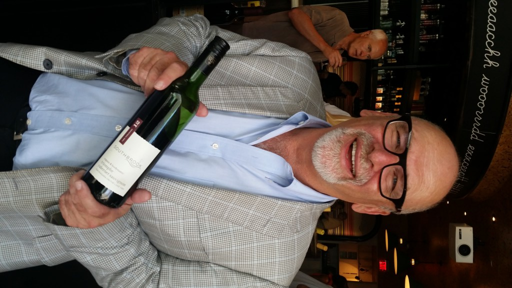 Southbrook's Bill Redelmeier is looking pleased as punch, and so he should be as his Triomphe Cabernet Sauvignon is now on the shelves of the UK's Marks and Spencers.