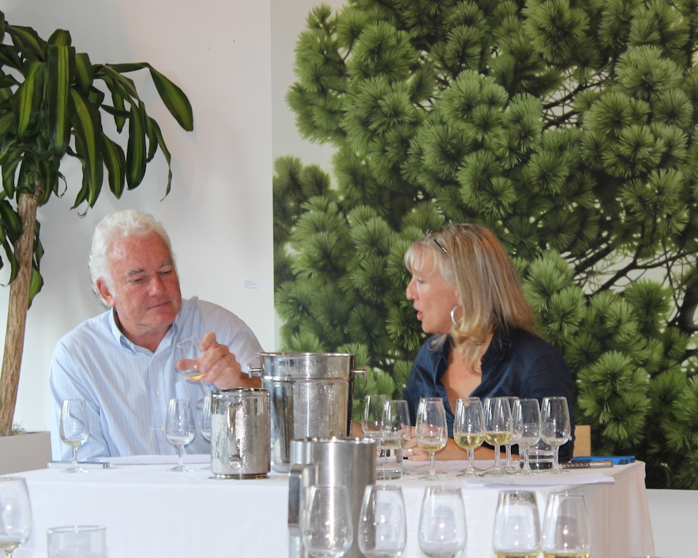 Ken Forrester and Veronique Rivest at WOSA Canada's Chenin Revelation.