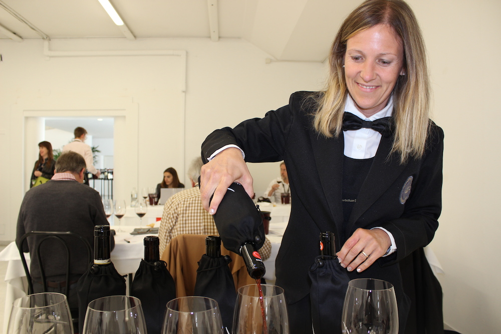 Somelier at Nebbiolo Prima 2014