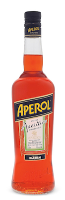 Aperol Bottle Shot