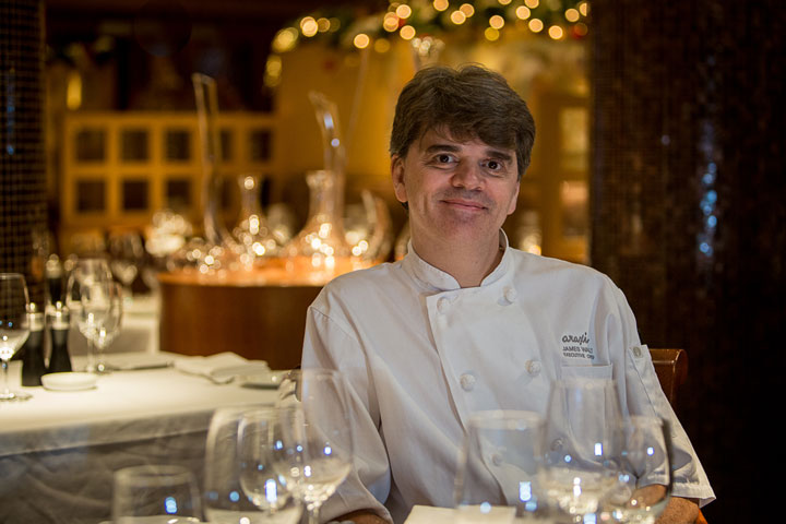 Whistler Chef James Walt is looking forward to his appearance at Savour Stratford.