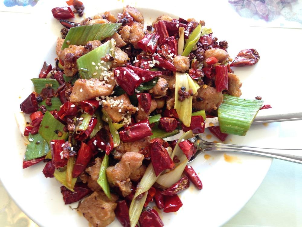 Sichuan House Chilli Chicken