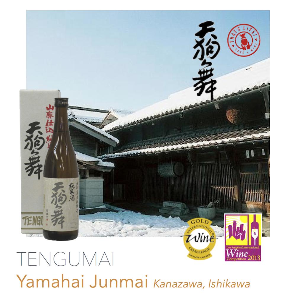 Tengumai Yamahai Junmai Sake