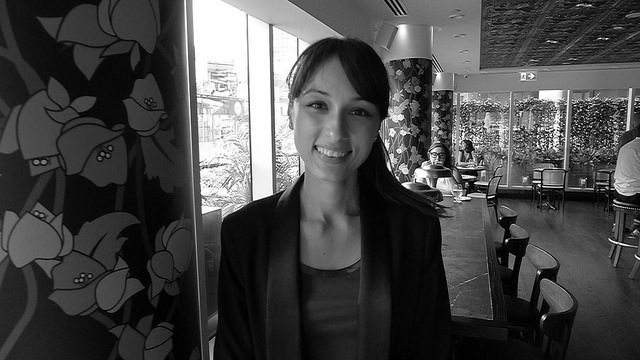 Sommelier Stephanie Guth