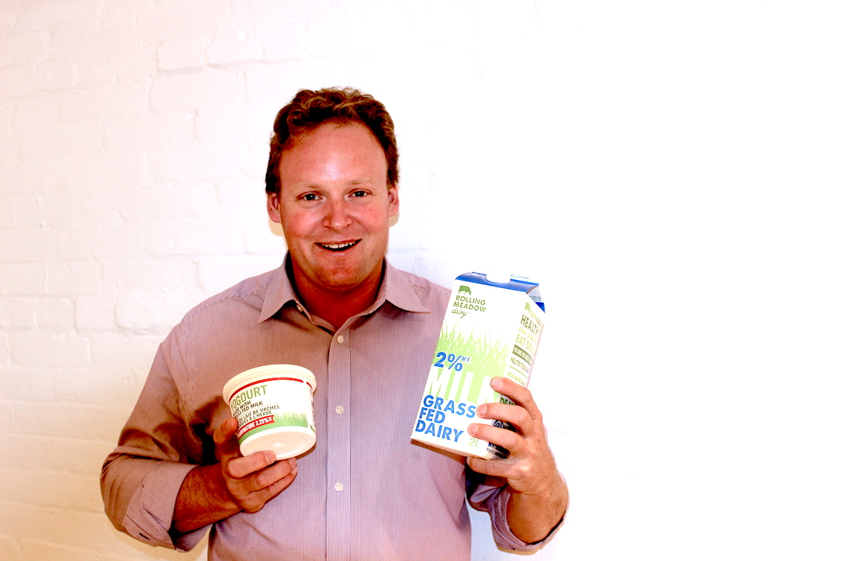 Matthew von Teichman of Rolling Meadow Dairy