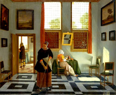 Pieter Janssens Elinga 1665 (example of all the paintings in interior artworks)