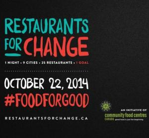 Restaurants for Change @ Canada-wide | Canada