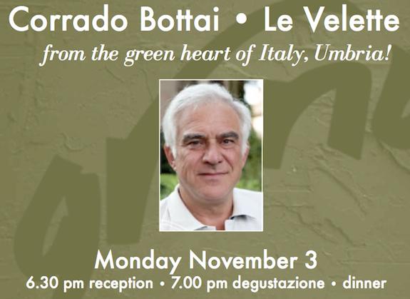 Corrado Bottai of Le Velette Umbria
