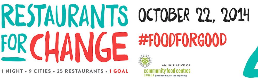 Restaurants for Change October 22 2014