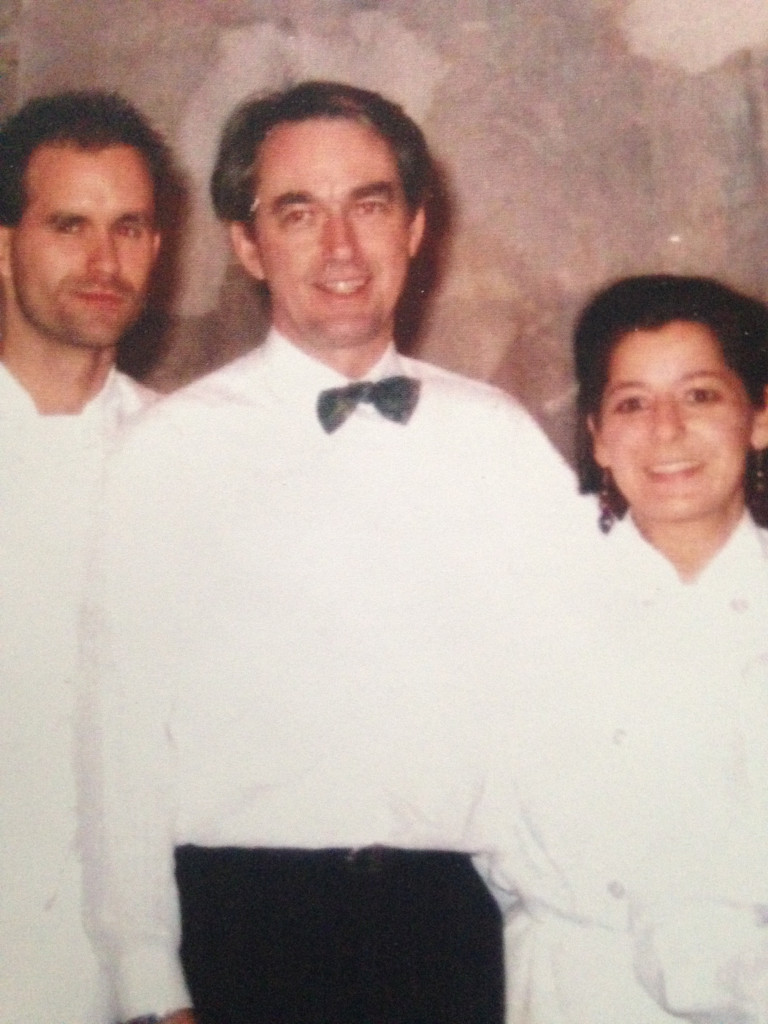 At Mildred Pierce with Chef Rob MacDonald and Chef Anne Yarymowich circa 1994 (approx)