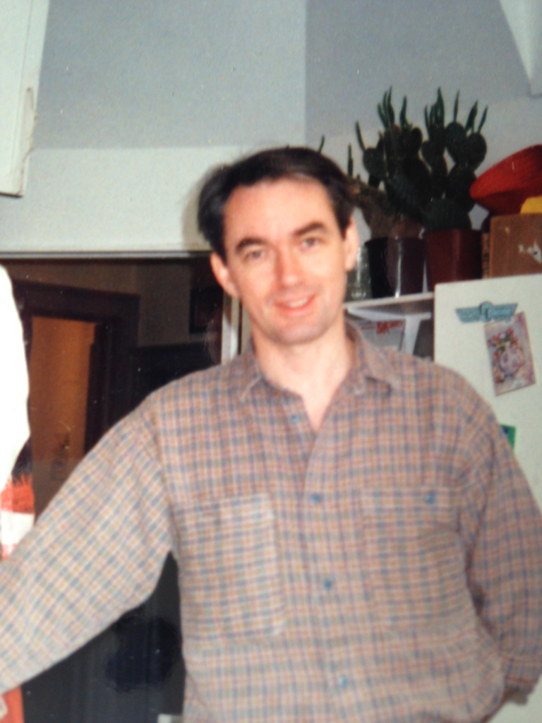 Kevin back in his Avant-gout catering days circa 1987 – 1994