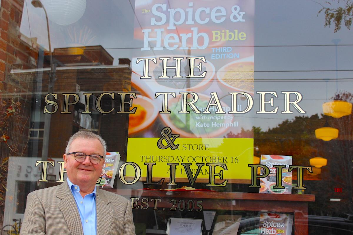 Ian Hemphill at The Spice Trader in Toronto