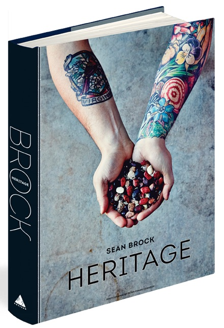 Sean Brock Heritage Book Cover