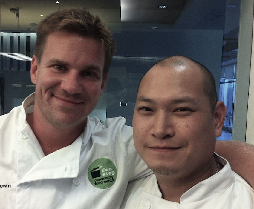 Chris Brown has gathered dozens of top chefs, like Dai Lo's Nick Liu, for the CFCC's Chefs For Change dinner series.
