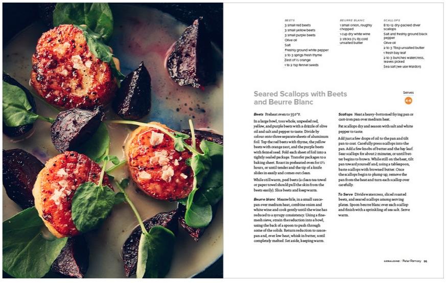 Toronto Cooks by Amy Rosen Scallops