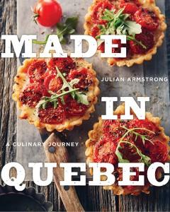 Made in Quebec cookbook cover
