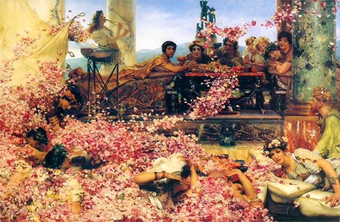 alma-tadema roses