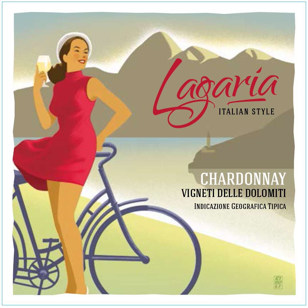 What a lovely label. The Lagaria Chardonnay impresses on so many levels.
