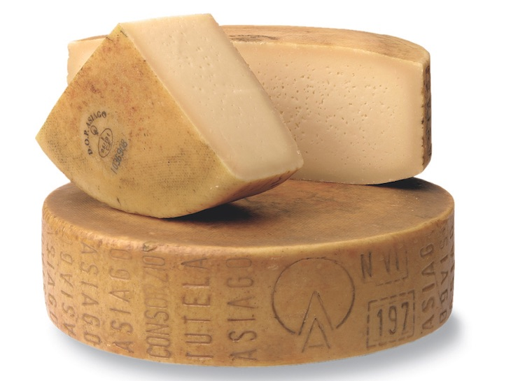 Real Asiago DOP Cheese from Italy