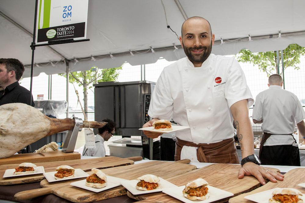 Rob Gentile for Toronto Taste 25