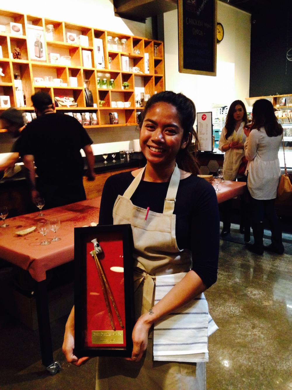 Sake Dumpling winner