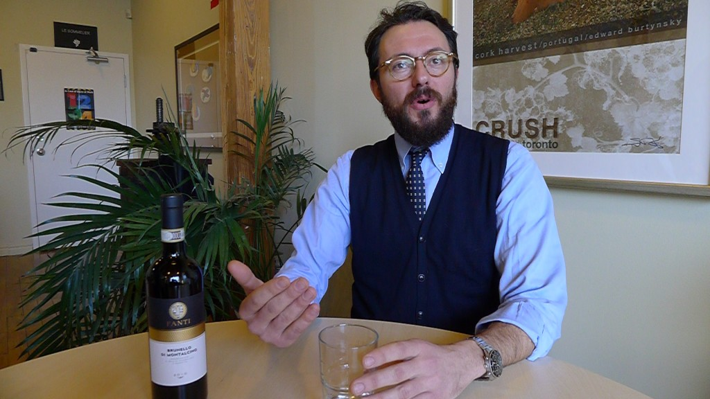 Why all the fuss about the 2010 Brunello Vintage? Tenuta Fanti's Luca Vitiello tells us exactly why.